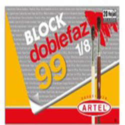 Block Dibujo Artel Medium 99 1/8 Doble/Faz