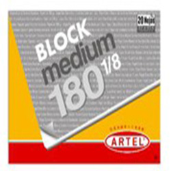 Block Dibujo Artel Medium 180 1/8 20hj