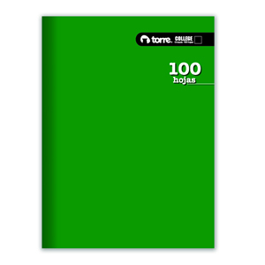 Cuaderno College Torre 100 hj Croquis