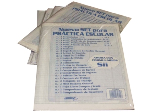 Practica Contable Set Escolar Halley 22 Form.