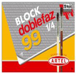 Block Dibujo Artel Medium 99 1/4 Doble/Faz